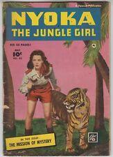 NYOKA The Jungle Girl #43 Fawcett 1950 G/VG 52 Pgs