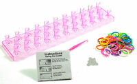 Loom Band Fashion Set 50 Bands Hook and Tool Pack