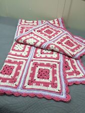 Afghan Fits Single Size Bed- Hand Crocheted