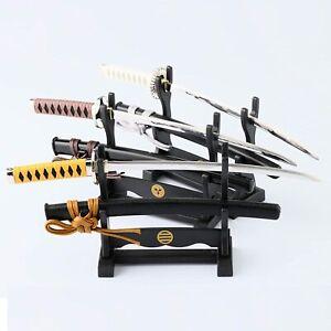Letter Opener, Shinsengumi Samurai Swords with Stands, Japan, Multiple Color