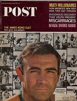 1965 Saturday Evening Post July 17 - James Bond - Sean Connery;Divorce in Nevada