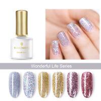 BORN PRETTY 6ml Gold Silver Glitter UV Gel Soak Off Sequins Nail Art Gel Varnish