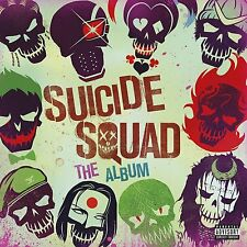 SUICIDE SQUAD: THE ALBUM CD - VARIOUS ARTISTS FILM SOUNDTRACK 2016
