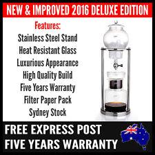 Premium Cold Drip Coffee Maker | Ice Dutch Brew Machine Free Filter Paper
