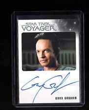 Star Trek Voyager Heroes and Villains Gary Graham auto. card