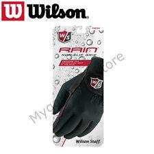 Wilson Staff Mens Rain Non Slip Grip Gloves - One Pair - New