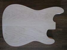 E-Gitarren Korpus Body ST-Form red alder/Roterle