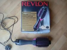 REVLON Pro Collection Salon One-step Hair Dryer and Volumiser brush USED ONCE