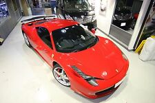 FR Design Carbon fiber GT rear wing spoiler fit for Ferrari 458 Italia coupe