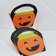 Pack Of 4 x HAPPY HALLOWEEN Trick Or Treat Pumpkin Sweet Candy boxes Bags  PARTY
