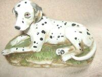 Vintage HOMCO - Dalmatian Dog #1403 - Porcelain Home Interiors Figurine