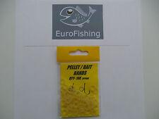 PELLET / BAIT BANDS X 100  * CARP FISHING/ BAIT
