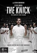 THE KNICK (COMPLETE SEASON 1 - DVD SET SEALED + FREE POST)