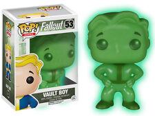 Funko PS4 XBOX Ltd Ed. Fallout 4 Vault Boy * GLOW IN THE DARK * POP VINYL NUOVO CON SCATOLA