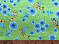 Cotton Quilt Fabric Tinker Bell Disney  BTHY
