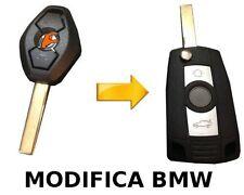 COVER CHIAVE BMW  3 5 7 Serie X3 X5 E46 E38 E39 E60 E61 E53 E83 MODIFIC CON LOGO