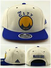 Golden State Warriors St Nuevo Adidas La ciudad Marfil Azul tan era Gorra 0d661ba9aef