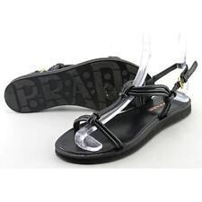 Sandali e scarpe PRADA nero per il mare da donna