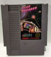 Star Voyager Nintendo Nes System Game 1987 Clean Tested