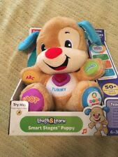 Laugh & Learn Smart Stages Puppy by Fisher-Price 6-36 Months New Version 75+
