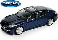 Porsche Panamera S Blue Welly 1 24 We24011bl