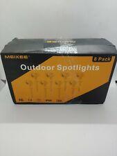 8 Pack 7W LED Landscape Lights 12V/24V Outdoor Spotlight Led Lawn Exterior Metal