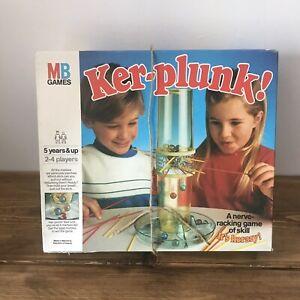 Vintage KER-PLUNK by MB Games 1986