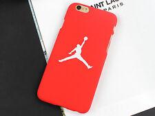 iPhone 7 Scrub Cartoon PC Hard Back Cover Jordan Red Case For iphone 7
