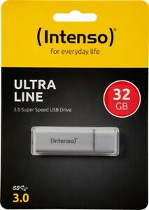Intenso USB 3.0 Stick 32GB, Ultra Line, silber 70MB/s