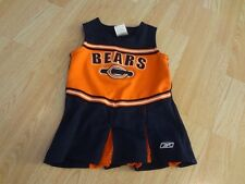 Infantil Bebé Niñas Chicago Bears 18 Mo Animadora Cheer Traje Vestido Reebok dc956a48757