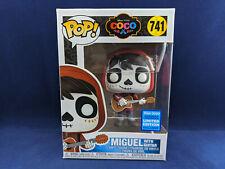 MIGUEL 741 Coco Guitar Funko Pop Pixar Disney Exclusive Vinyl Figurine Wondercon