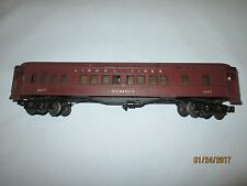 Lionel Lines #2627 Madison Heavyweight Passenger Car. Very Good Condition