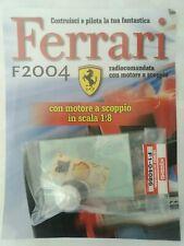 Ferrari Formula 1 F2004 De Agostini Kyosho a Scoppio Ricambio N°86 04086 Nuovo