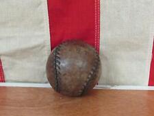 Vintage Antique Leather Hot Pocket Baseball Figure 8 Ball circa 1880s-1890s Rare