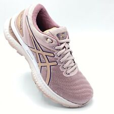 Asics 1012A587 GEL-NIMBUS 22  Rose Gold Women.SZ 6 MED Runni Shoes WORN ONCE.D1.