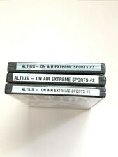 Altius Pioneer For The Extreme Sports Fanatic On Air Volume 1/2/3 New/Sealed
