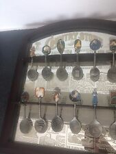 Wooden COUNTRY STORE SPOON HOLDER Display