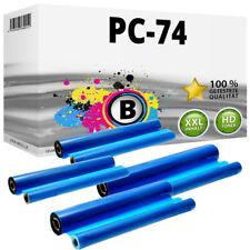 4 Thermo-Transfer-Rollen kompatibel Brother Fax T106 T7 PLUS T82 T82 T84 T86 T92