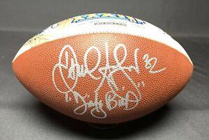 Jamal Anderson Signed Atlanta Falcons Super Bowl XXXIII Football PSA 9A67952