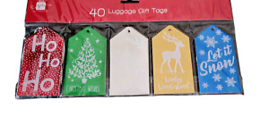 40 Luggage Gift Tags
