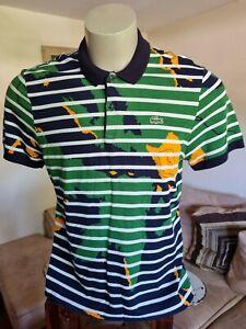 Lacoste Live Men's Polo Shirt Size 7 Or L Slim