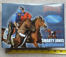HORSE RACING SMARTY JONES BOBBLEHEAD PARX RACETRACK PROMOTION NEW RARE VINTAGE!