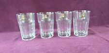 4 X Captain Morgan Cocktail Glasses. Tough, Perfect pre-owned. FREE SIGN POST