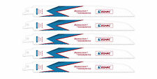 EZARC Reciprocating Saw Blade Heavy Wood and Metal 9-Inch 10TPI R930DM (5-Pack)