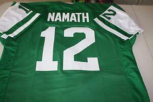 JOE NAMATH #12 QB SEWN STITCHED JERSEY SIZE XXL SUPER BOWL III BROADWAY JOE