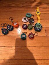 Tamagotchi Giga Pets Nano Baby 90s Vintage Lot