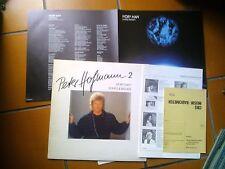 LP PETER HOFMANN 2 IVORY MAN A ROCK FANTASY SONGS & BALLADS + BOOKLET & FORM