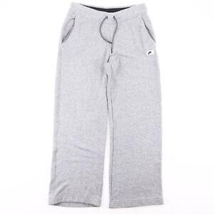 NIKE Grey Regular Sports Sweatpants Mens M