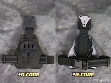 Black Fuzz G-Code Mule ISS Drop Leg Holster Carry Platform With RTI Hanger