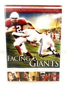 Facing The Giants (DVD, 2006) Special Collector's Edition - REGION 1 Only